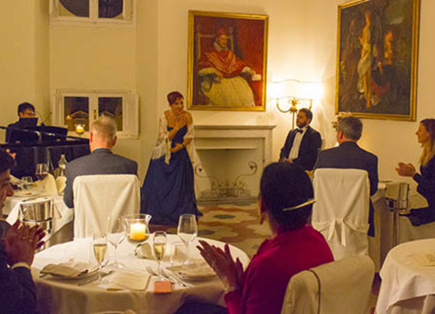 OPERA DINNER AT PALAZZO PAMPHILJ