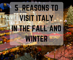 5 Reasons to Visit Italy in the Fall and Winter http://buff.ly/2dV63V7  #Italy #ebook #free #autumn #winter #travel