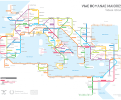 Ancient Rome's System of Roads Visualized in the Style of Modern Subway Maps! http://buff.ly/2tIk4d3  #ancientrome #map #subway